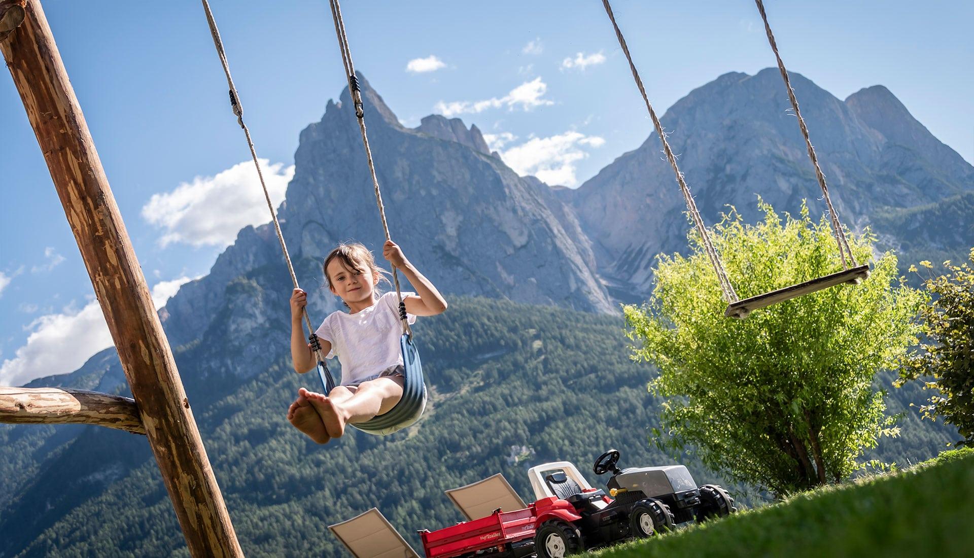 vacanza in famiglia a Castelrotto – Alto Adige