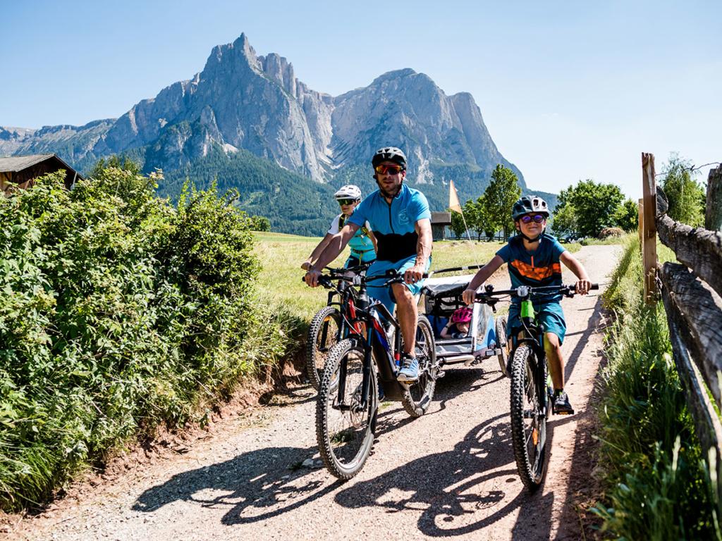 Castelrotto in bicicletta
