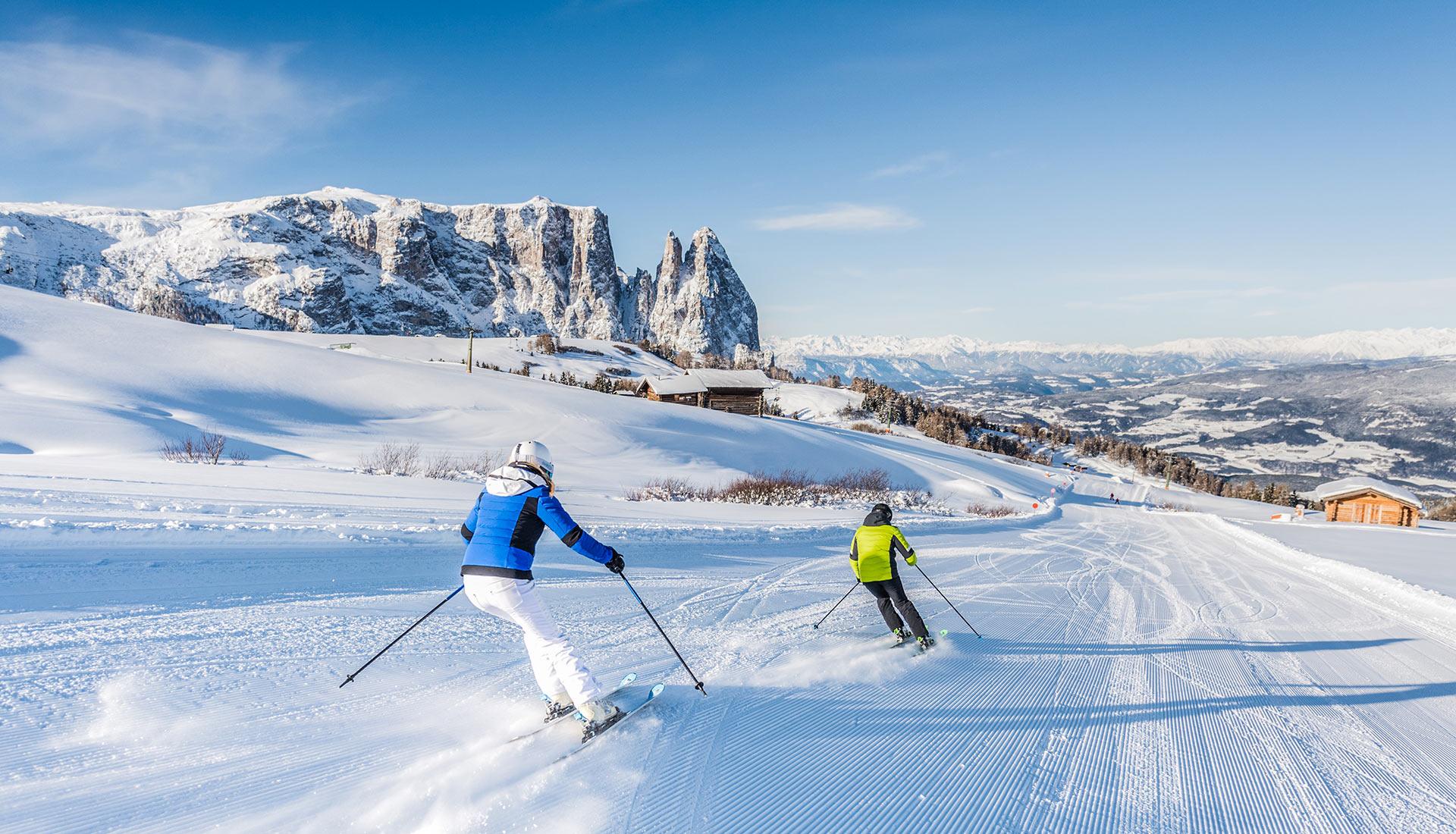 ski holiday in Castelrotto